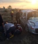 Adana'da Trafik Kazası Açıklaması 8 Yaralı
