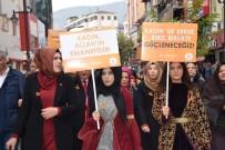 AİLE İÇİ ŞİDDET - AK Parti Kadın Kollarından Kadına Yönelik Şiddetle Mücadeleye Destek