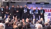 HALIÇ KONGRE MERKEZI - AK Parti'nin Erzurum Büyükşehir Belediye Başkan Adayı Sekmen'e Coşkulu Karşılama