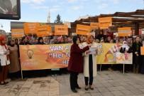 KAYHAN TÜRKMENOĞLU - AK Partili Kadınlardan Şiddete 'Hayır'