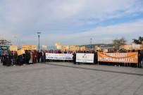 TEZAHÜR - Çanakkale'de 25 Kasım Kadına Yönelik Şiddetle Mücadele Etkinliği