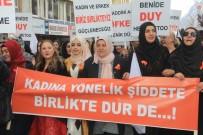 TEZAHÜR - Hakkarili Kadınlar, Kadına Yönelik Şiddete Karşı Yürüdü