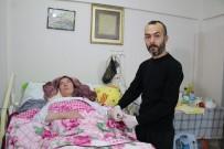 GÜLHANE - Hidrosefali Hastası Eşi İçin Elinden Geleni Yapıyor