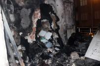İstanbul'da Korkutan Ev Yangını
