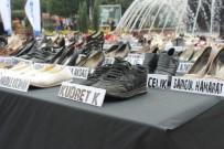 AVCILAR BELEDİYESİ - Kadın Cinayetine Kurban Giden 363 Kadın, 363 Çift Ayakkabı
