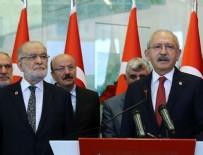 SAADET PARTISI GENEL BAŞKANı - Kılıçdaroğlu-Karamollaoğlu görüşmesinin tarihi belli oldu