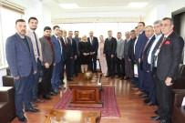 MEHMET KAYA - Türk İş İnsanları Erbil Başkonsolosu İle İki Ülke Ticaretini Masaya Yatırdı