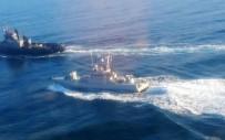 PROVOKASYON - Ukrayna gemileri Kerç'ten ayrılıyor