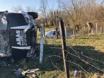 NEBIOĞLU - Zonguldak'ta Trafik Kazası Açıklaması 1'İ Ağır, 4 Yaralı