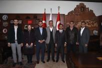 MİLLİ SAVUNMA KOMİSYONU - AK Parti Belediye Başkan Adayı Arı, Nevşehir Belediye Başkanı Seçen'i Ziyaret Etti
