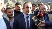 KANAAT ÖNDERLERİ - AK Parti'nin Hakkari Belediye Başkan Adayı Epcim'e Coşkulu Karşılama