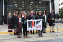 KADINA KARŞI ŞİDDET - Alanya'da Avukatlardan Kadın Hakları Açıklaması
