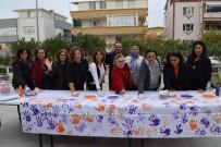 KADIN CİNAYETLERİ - Aliağa'da, 'Kadına Şiddete Hayır' Etkinliği