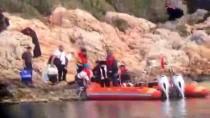 DEMRE - Antalya'da Yardım İsteyen 24 Düzensiz Göçmen Kurtarıldı