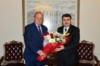 VASIP ŞAHIN - ASO Yönetim Kurulu, Ankara Valisi Şahin'i Ziyaret Etti