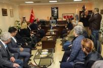 TÜRK BAYRAĞI - Başkan Şirin'den Kosova Büyükelçisi Spahiu'ya Türk Bayrağı