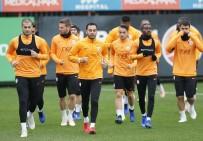 CIMBOM - Galatasaray'da Şampiyonlar Ligi Mesaisi Devam Etti