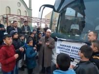 MÜFTÜ YARDIMCISI - Hakkarili Öğrenciler Dualarla Geziye Gönderildi
