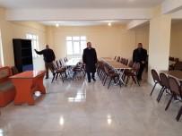 TÜRKISTAN - Hayırsever Yıldırım, Türkistan Cami Taziye Evi'nin İçerisini Yeniledi