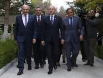 SAADET PARTİSİ - Kılıçdaroğlu-Karamollaoğlu görüşmesi başladı