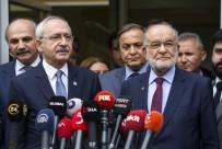 SAADET PARTİSİ - Kılıçdaroğlu, Karamollaoğlu İle Görüştü