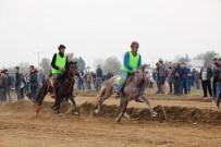 PARA ÖDÜLÜ - Ödemiş'te Rahvan At Yarışları Yapıldı