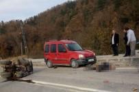 MEHMET ÖZTÜRK - Otomobilin Çarptığı ATV Sürücüsü Hayatını Kaybetti