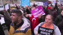 EROL AYYıLDıZ - Pazarcı Esnafından Belediye Önünde Protesto