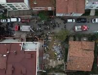 HELİKOPTER KAZASI - Pilotların son manevrası büyük bir faciayı önledi