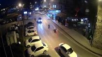 Sinop'taki Trafik Kazaları MOBESE Kameralarında