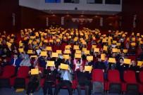 ŞİDDETE HAYIR - Tiyatro Salonu Oyun Sonunda Turuncuya Boyandı