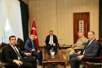 TUNCELİ VALİSİ - Tunceli Heyeti Vali Ekinci'yi Ziyaret Etti