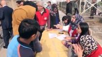 KARAÇAY - Türk Kızılayı'ndan Irak'taki Göçmenlere İnsani Yardım