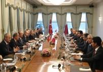 KATAR EMIRI - Türkiye Ve Katar Arasında İşbirliği Protokolü İmzalandı