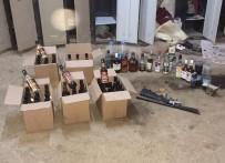 VOTKA - Uşak'ta Kaçak İçki Operasyonu