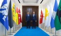 SELAHATTIN GÜRKAN - Vali Baruş, Başkan Gürkan'ı Ziyaret Etti