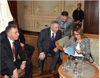 ESENDERE - Başkan Pınar, Bakan Pekcan'la Bir Araya Geldi
