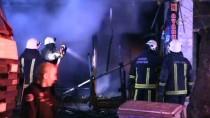 Bursa'da İş Yerinde Patlama Ve Yangın