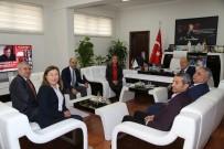 PARTİ MECLİSİ - CHP Heyetinden Başkan Özakcan'a Ziyaret