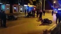 HITIT ÜNIVERSITESI - Çorum'da Motosikletli Yunus Ekipleri Kaza Yaptı Açıklaması 4 Yaralı