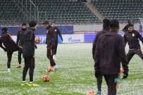 AHMET ÇALıK - Galatasaray, Lokomotiv Moskova Maçı Hazırlıklarını Tamamladı