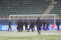AHMET ÇALıK - Galatasaray, Lokomotiv Moskova Sınavına Hazır