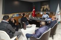 KARABAĞ - Kapatılan Özkanlar Pazarı'na Başkan Koyuncu'dan Viyadük Altı Önerisi