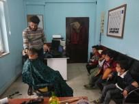 Köy Okulu Öğrencilerine Ücretsiz Traş