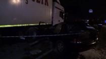 HAKKARİ YÜKSEKOVA - Uzman Çavuş Trafik Kazasında Yaşamını Yitirdi
