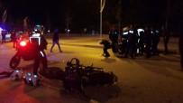 HITIT ÜNIVERSITESI - Yunus Ekipleri Kaza Yaptı Açıklaması 4 Polis Yaralandı