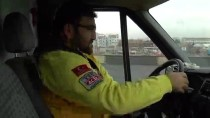 AMBULANS ŞOFÖRÜ - Ambulans Personeline Sürüş Teknikleri Eğitimi