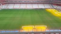 GÜNEŞ SİSTEMİ - Antalya Stadı'nın Zemini Göztepe Maçına Hazır