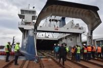 DEMİRYOLLARI - Bandırma-Tekirdağ Arası Tren Ferry Deneme Seferi Tamamlandı