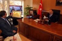 AHILIK - Başkan Alan Ve Beraberindekiler Vali Günaydın'ı Ziyaret Etti